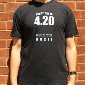 The 420 Shirt (front/black)