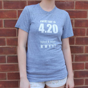 The 420 Shirt (front/grey)
