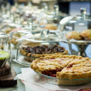 Pie Bakery Counter